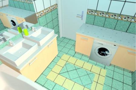 Emeleti fürdőszoba új 3